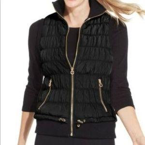 Calvin Klein Performance Ribbed Puffer Vest XL